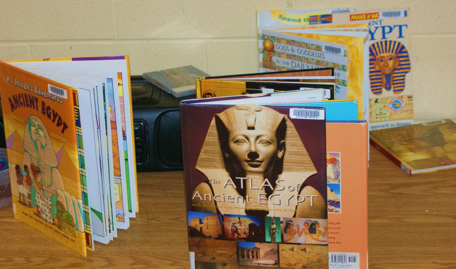 Ancient Egypt at the EG Public Library