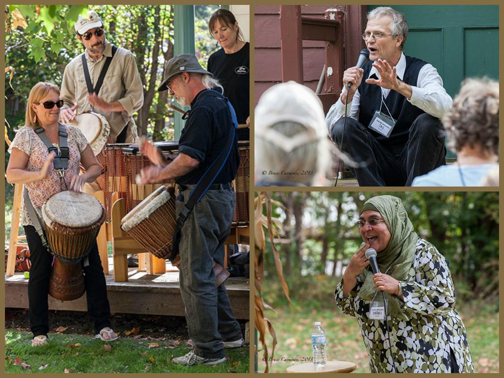 A Festival for All- Weaving Words: Sharon Temple Storytelling Festival