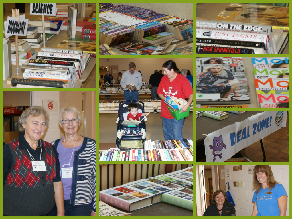 Great Turnout at the EGPL Giant Used Book Sale