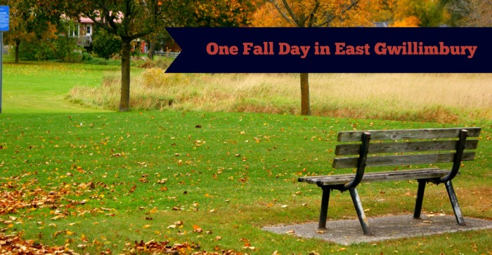 One Fall Day in East Gwillimbury